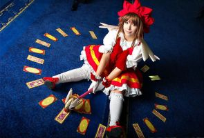 sakura card captors cosplay by AFSEMsoul