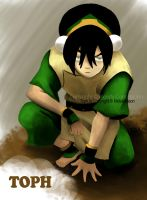 Close up of Toph by WendyFae