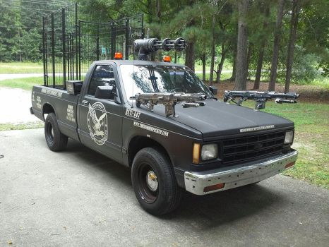 ZCU 147 Zombie Truck by TacoAce