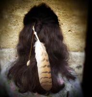 Bubo Bubo Spirit I (hair clip) by JOCAPS