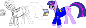 Special Agent Twilight Sparkle Profile by CodenameApocalypse