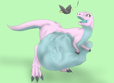 A really stuffed Rex by jacobgord12345