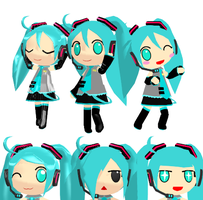 Chibi Miku Updated Download by Aira-Melody