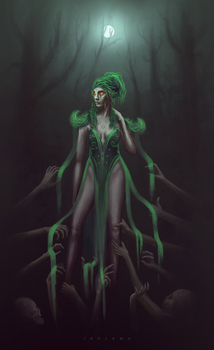 Necromancer by JavSama