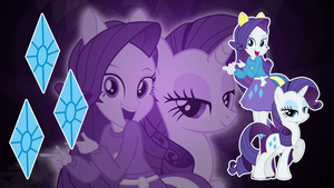 Rarity EQG Wallpaper by Jerimin19