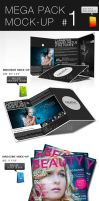 Mega Pack Mock-Up 1 by CarlosViloria