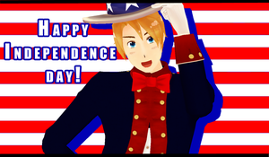 Happy Independence Day by Aisuchuu