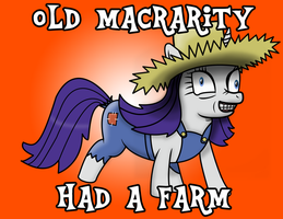 Old MacRarity Had A Farm by daimando