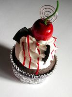 Black Forest Faux Cupcake - 04 by CreativeAbubot