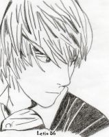Light Yagami - Death Note by Letix86