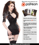Threnody in Velvet on Patreon! by ladymorgana