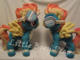 my little pony Spitfire (commissions) by Little-Broy-Peep