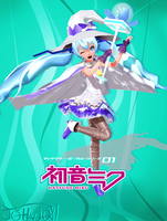 .:J11 Hatsune Miku Snow 2014:. -Download Model- by johnjan11