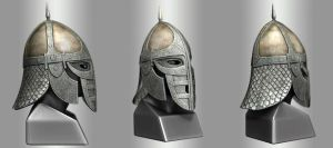 Skyrim Stormcloak Helmet - Final Render by hsholderiii
