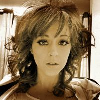Lindsey Stirling sepia by theShadowGrove