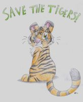 Save The Tigers by zombiecatfire13