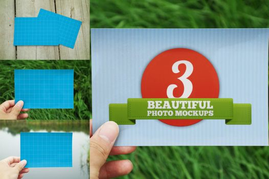 Beautiful Photo Mockups by pstutorialsws