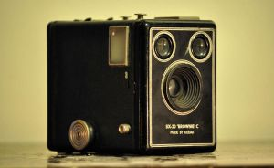 Kodak Brownie Six-20 Model C by AuroraMagorian