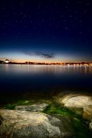 Stakholmen by night by qwstarplayer