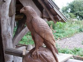Eagle by woodcarve