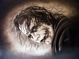Heath Ledger Joker by ADRIANSportraits