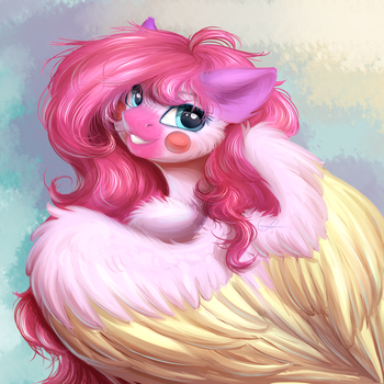 Hello! (Commission from VK) by PeachMayFlower