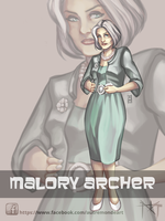 [FA] Malory ARCHER by Autre-Monde-Art