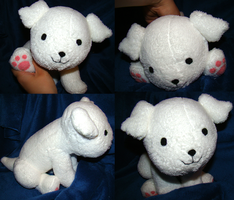 Hetalia Hanatamago Puppy Plush by Shadowless-Dreamer