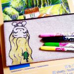 rapunzel pencil case by gummigator