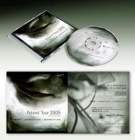 Poland Tour 2005 CD cover by kubicki