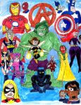 The Avengers: Earth's Mightiest Heroes by SonicClone