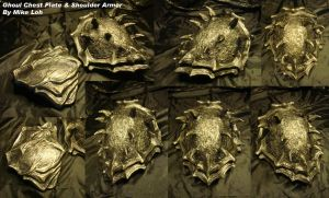 Ghoul Shoulder and Chest Plate by Uratz-Studios