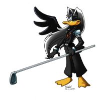 -- Daffy Sephiroth -- by Pokelai