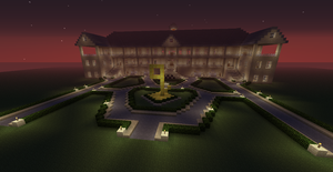 My enormous Minecraft...house? by SkylordLoLz