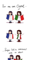Twin flags by FEuJenny07