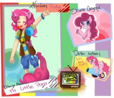 Cartoon town ficha- Pinkie Pie by The-cat1