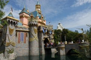 Sleeping Beauty's Castle by Saquena