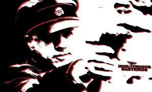 Hans Landa In POP ART by Jigsawlacrimosa