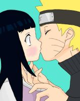 Naruhina Kiss by uchihastar94