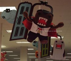 Domo-kun Halloween 002. by GermanCityGirl