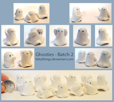 Boo Ghosties - Batch 2 - Selection Limited by Bittythings