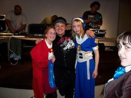 ACen '06 - Me, Greg, and Leiko by Bepbo