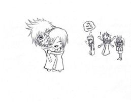 Chibi Xion...and Roxas... by kingdom-triforce