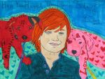 Lucas Scott with the Pitties by mystery-kitty-cat