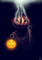 Trick or Threat, i mean, Treat by JoelAmatGuell