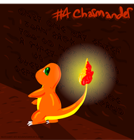 Charmander in Ruins of Alph by Inkblot-Rabbit