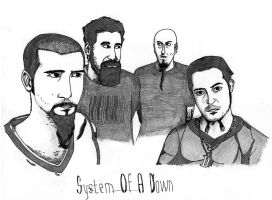 System Of A down by AndreiVillneuve