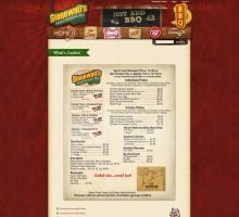 Stonewalls BBQ Website by HappyCatfishWeb