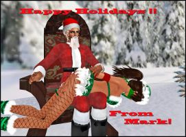 To all my friends in SL.. Happy holidays!! by MarkFarner