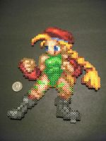 Perler Beads Cammy CSW by kiskekokanut
